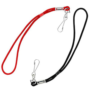 Water Gear Wrist Lanyard - Strong and Durable Able to Hold Keys and Whistles - Water Lifeguards Fanny Packs and Water Lifeguards Gear Accessibility - Black