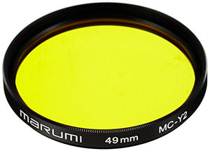 Marmi monochrome imaging filter 49mm MC-Y2 (yellow) Model number: 004 060