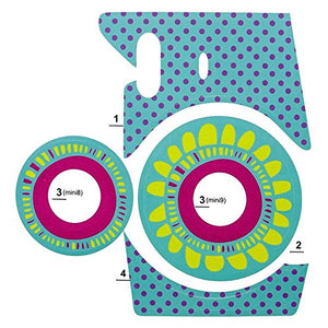 Camera Sticker for Fuji Instax Mini Cameras (Turquoise)