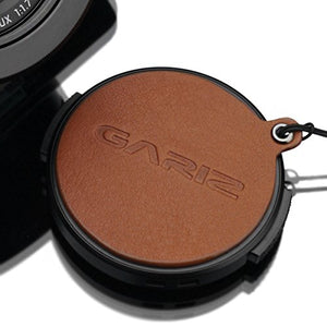 Gariz Genuine Leather XA-CFDLCM Camera Capfix Cap Fixs for Leica DLUX / Panasonic Lumix LX100, Camel Brown