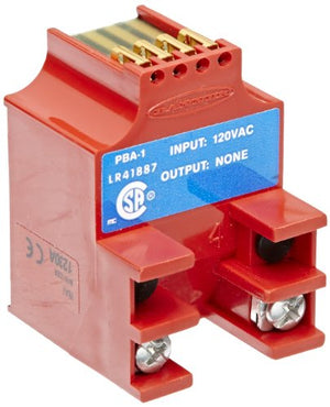 Banner PBA-1 Multi Beam Sensor, 3 and 4 Wire Power Blocks, 130 VAC Supply Voltage, <3VAC On StateV Saturation