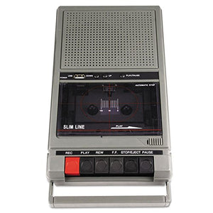 Amplivox SL1039 Portable Four-Station Listening Center Audio Cassette Recorder