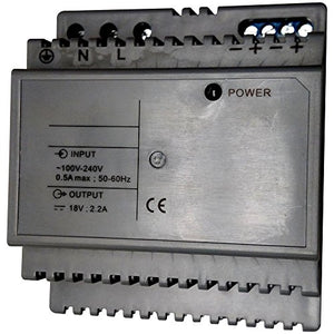 IST Video Door Remote Power Supply, 18VDC, 4A (JB-2702KD)