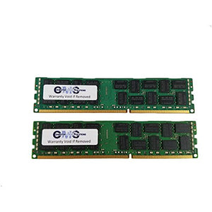32GB (2X16GB) Memory Ram Compatible with Dell Poweredge R610 1333Mhz EccR for Server Only by CMS B12