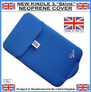 Prolineonline Neoprene Kindle Sleeve Cover & Screen Protector, Royal Blue