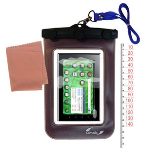 outdoor Gomadic waterproof carrying case suitable for the Samsung i9100 to use underwater - keeps device clean and dry