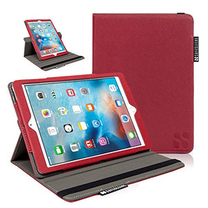 SafeSleeve iPad EMF Radiation Blocking Case Tablet Case for iPad 5th Gen, iPad Air, iPad Air 2 and iPad Pro 9.7 - Red