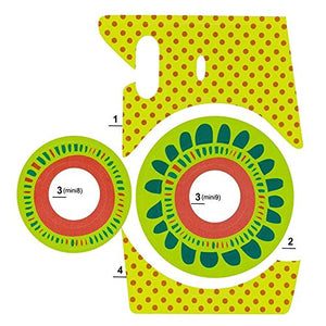 Camera Sticker for Fuji Instax Mini Cameras (Yellow)