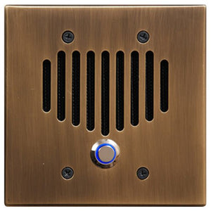 Intrasonic Technology IST I2000 Intercom Door Station, Antique Gold (I2000DG)