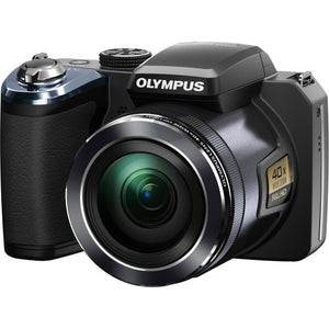 Olympus SP-820UZ iHS Digital Camera (Black) (Old Model)