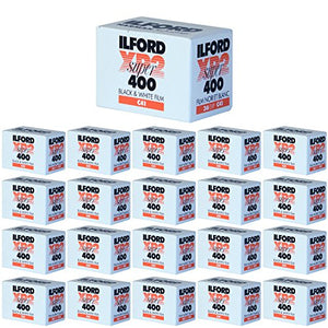 Ritz Camera Pack of 20 Ilford XP-2 Super 400 135-36 Black & White Film