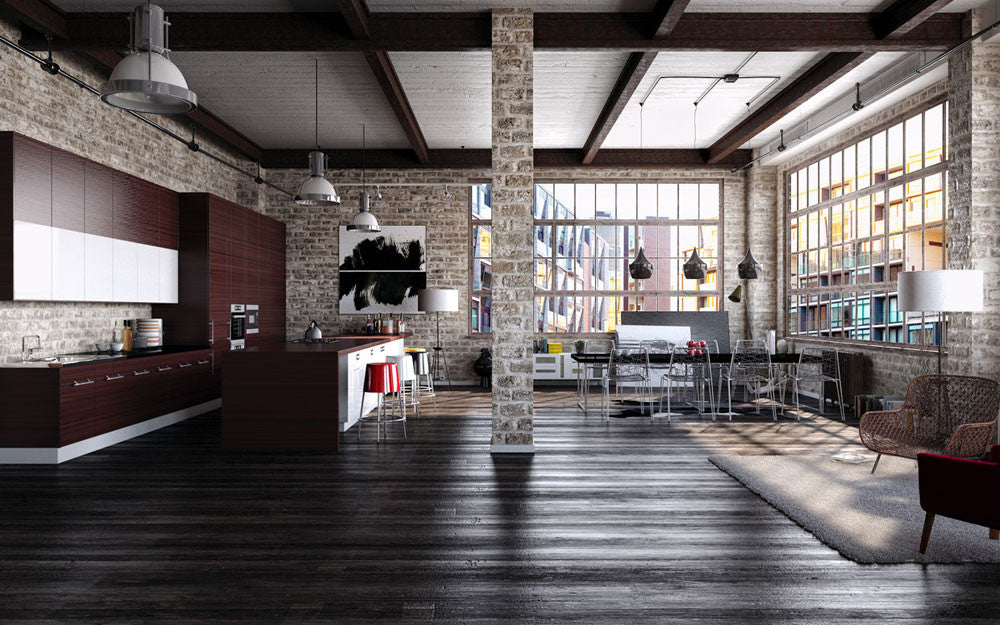 How to Get the Industrial Modern Look EMFURN