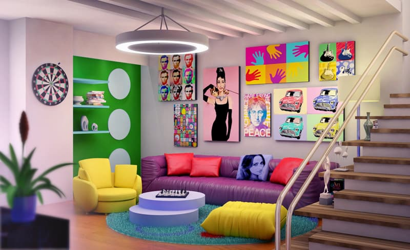 Add A Little Pop Art To Your Home Decor