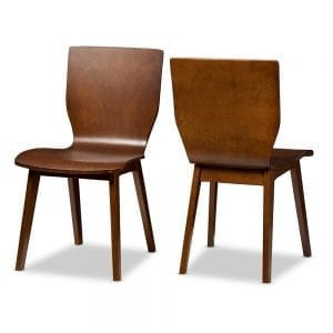 Elsa bent wood dining chairs