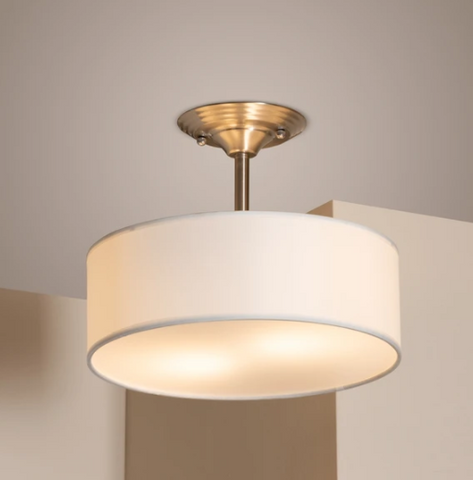 BRANSON DRUM PENDANT LIGHT