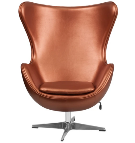 Copper Egg Chair