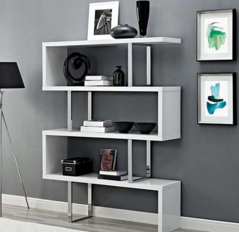 LOGAN CONTEMPORARY BOOKSHELF