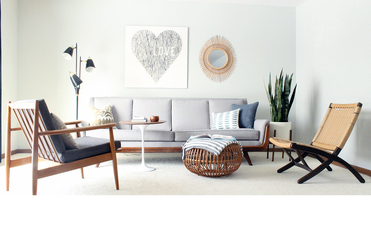 Mid-Century Modern Furniture + Modern Furniture