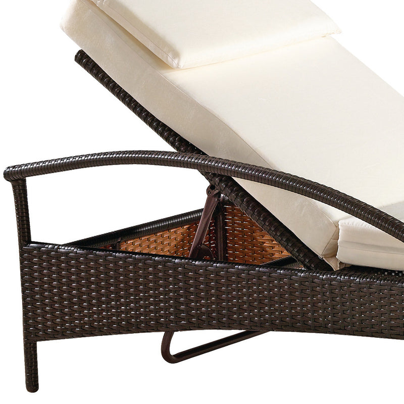 Arya Outdoor Chaise Lounge - living-essentials