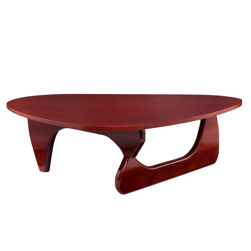 Noguchi Style Wood Coffee Table
