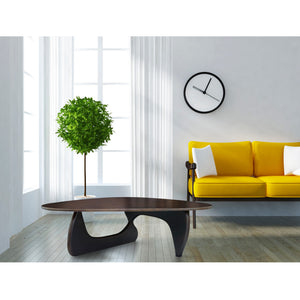 Noguchi Style Wood Coffee Table Free Shipping