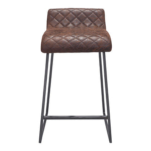 Fred Vintage Counter Stool Brown Stools Free Shipping