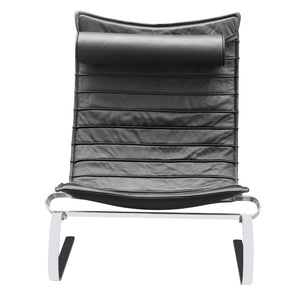 Pk 20 Style Lounge Chair 35H X 19W 30D / Black Chairs Free Shipping