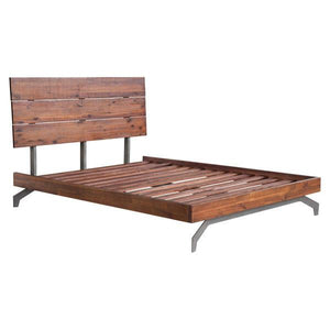 Porter Chestnut Queen Bed Frames Free Shipping