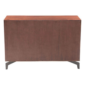 Porter Chestnut Console Table Free Shipping
