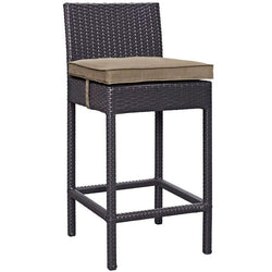 Lucy Outdoor Patio Fabric Bar Stool - living-essentials