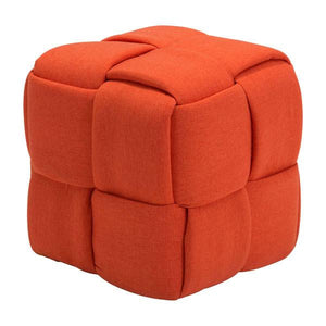 Seth Stool Orange Stools Free Shipping