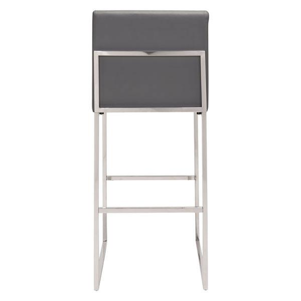 Savannah Gray Bar Stool - living-essentials