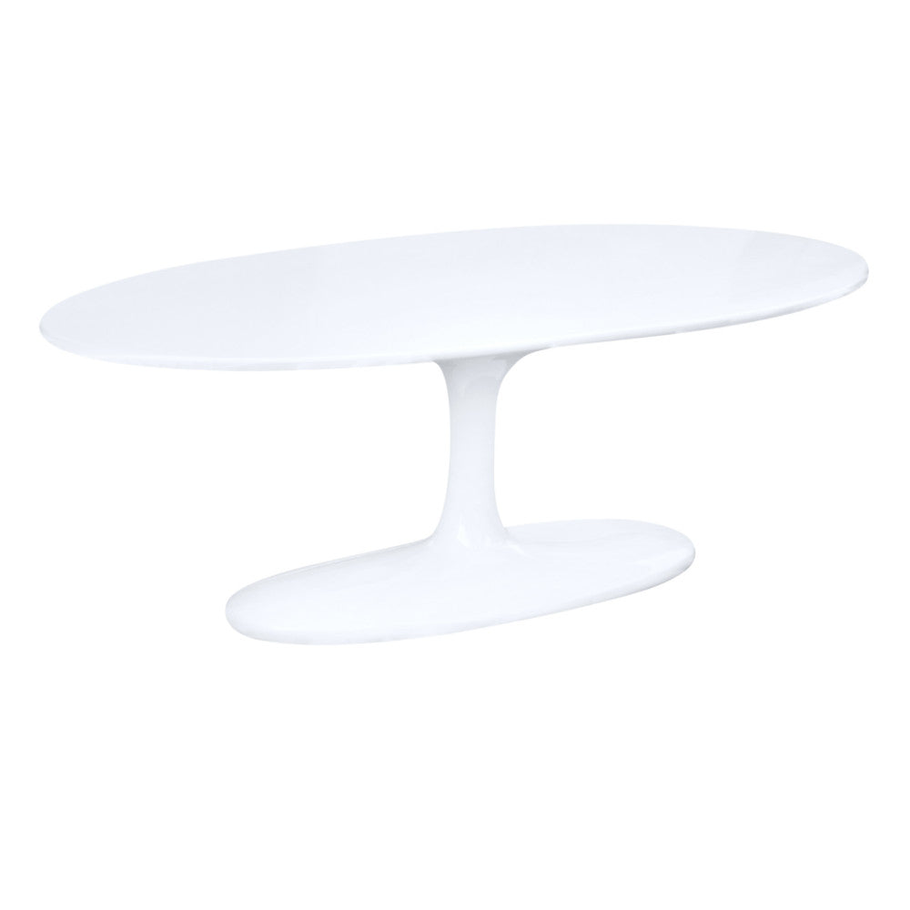 Tulip Style 48 Oval Fiberglass Coffee Table Free Shipping