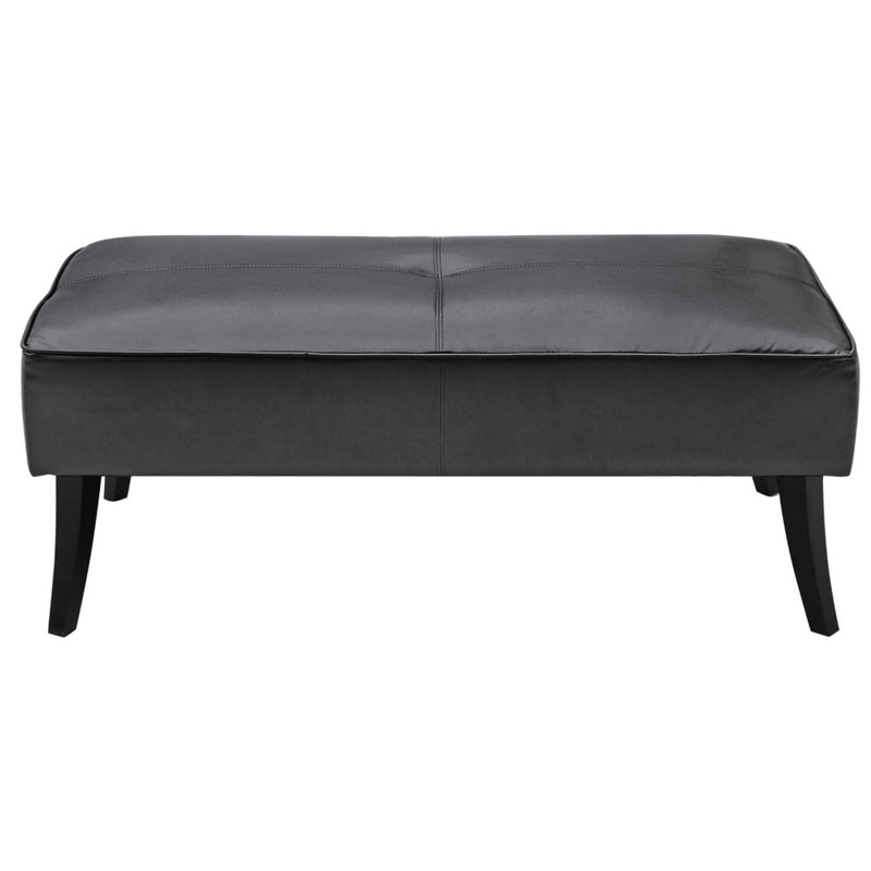 Johnathan Leather Bench - living-essentials