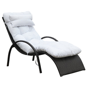 Winter White Outdoor Chaise Lounge Chairs Free Shipping