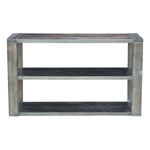 Skye Gray Console Table Free Shipping
