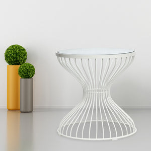 Warren Platner Style Hourglass Side Table Free Shipping