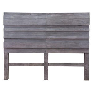 Calvin Queen Old Gray Headboard Headboards Free Shipping