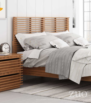 Linden King Walnut Headboard Headboards Free Shipping