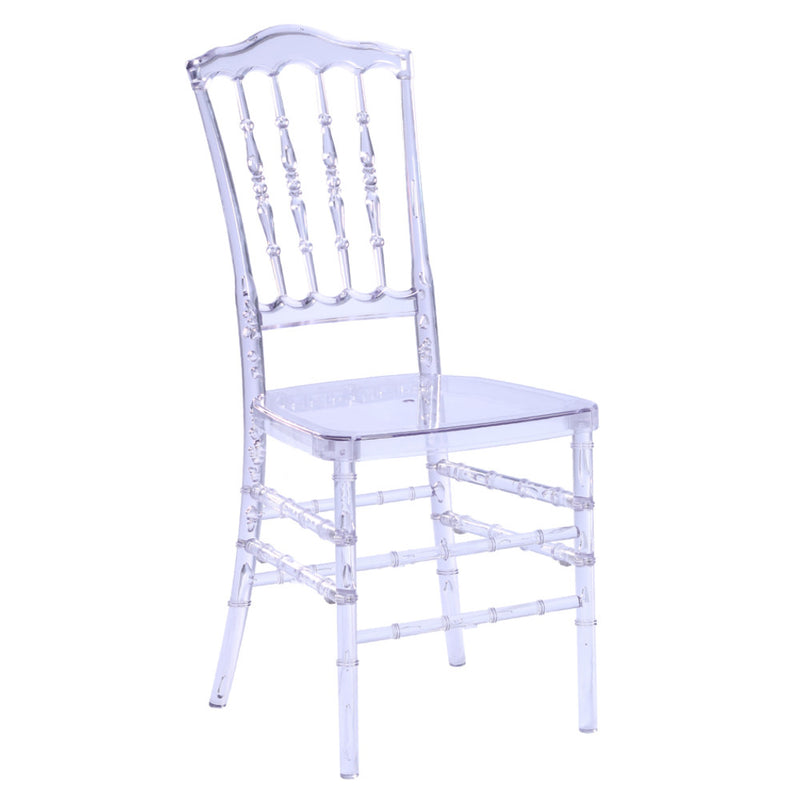 Arcane Clear Dining Chair - living-essentials
