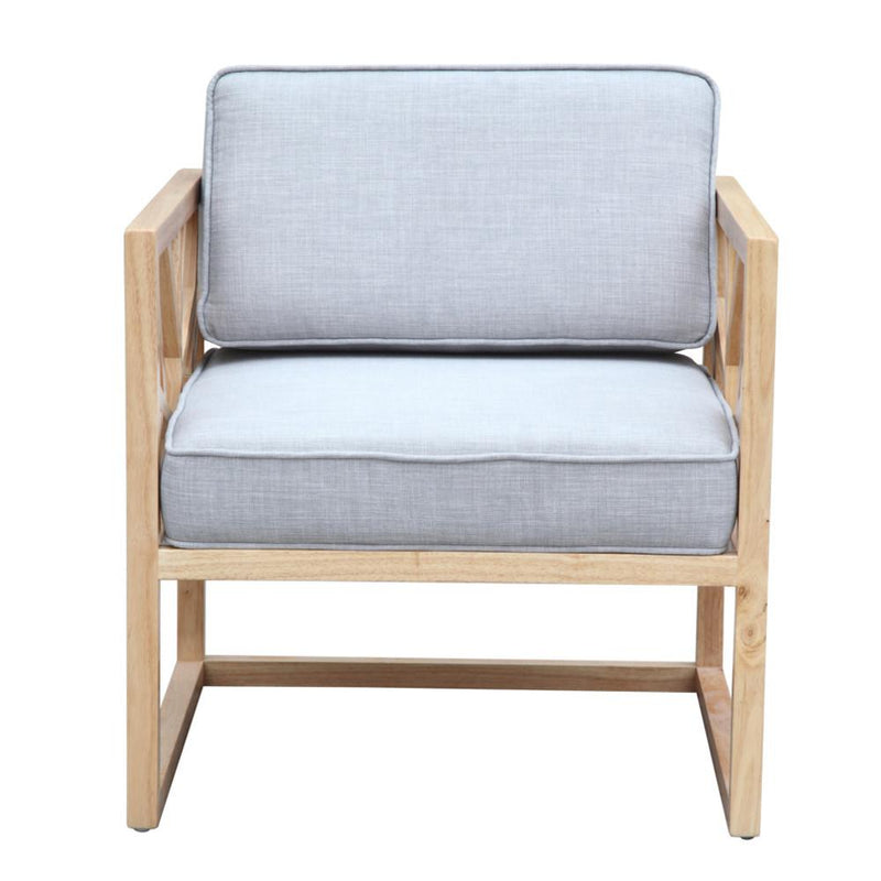 Silence Grey Armchair - living-essentials