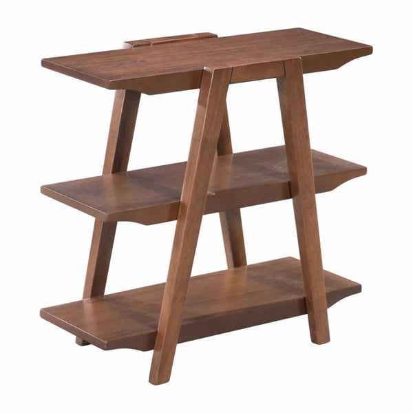 Griffin Walnut End Table - living-essentials