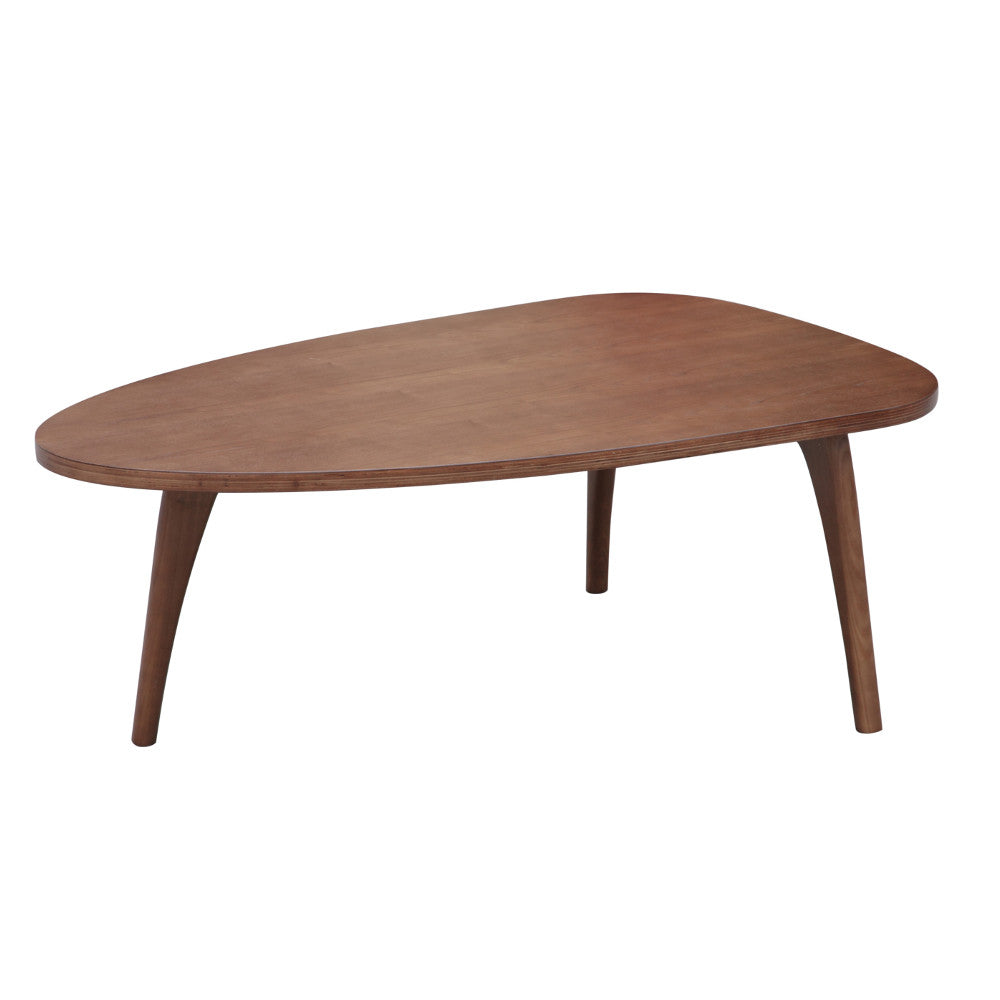 Amsterdam Mid Century Walnut Coffee Table Free Shipping