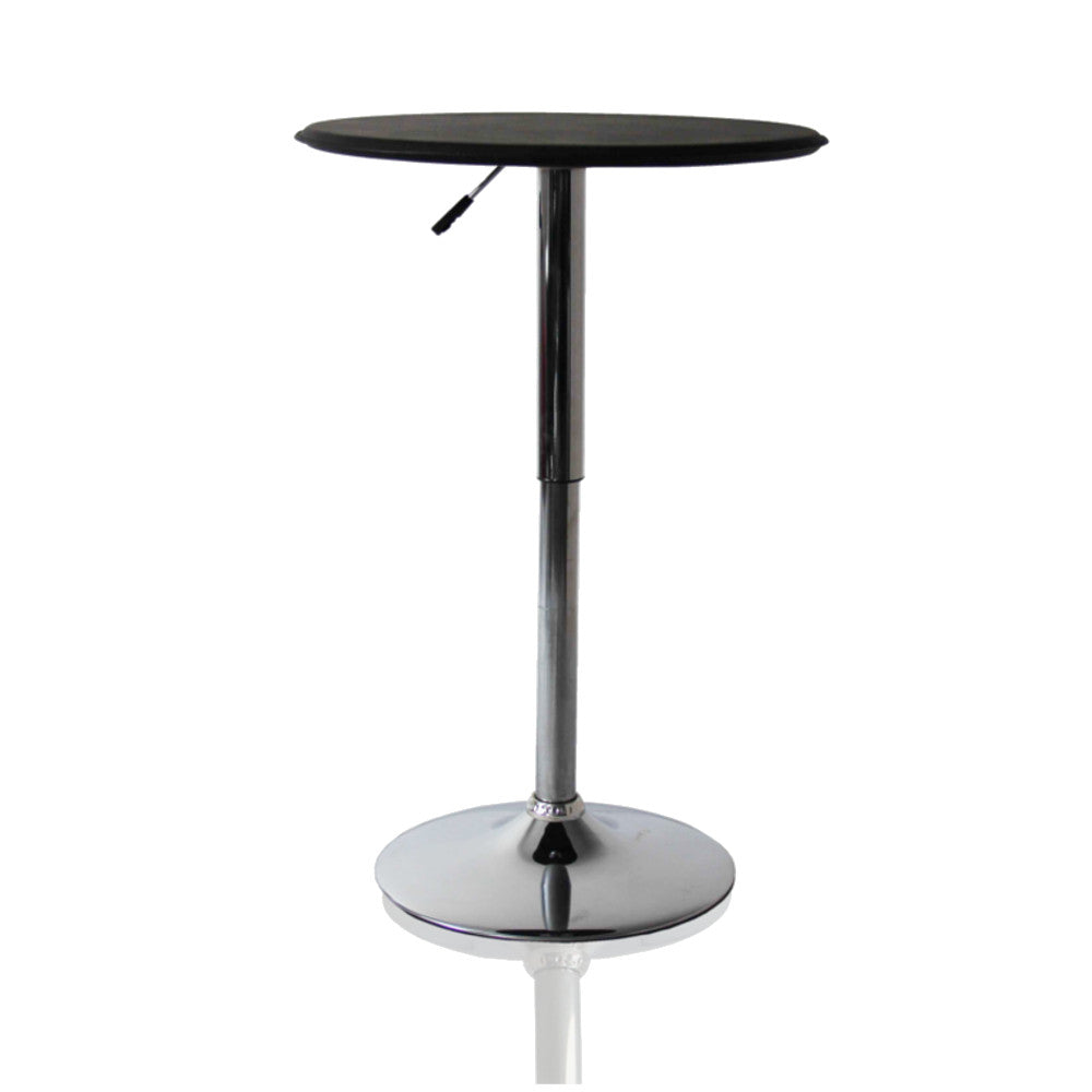 Sprint Black Adjustable Bar Table Tables Free Shipping