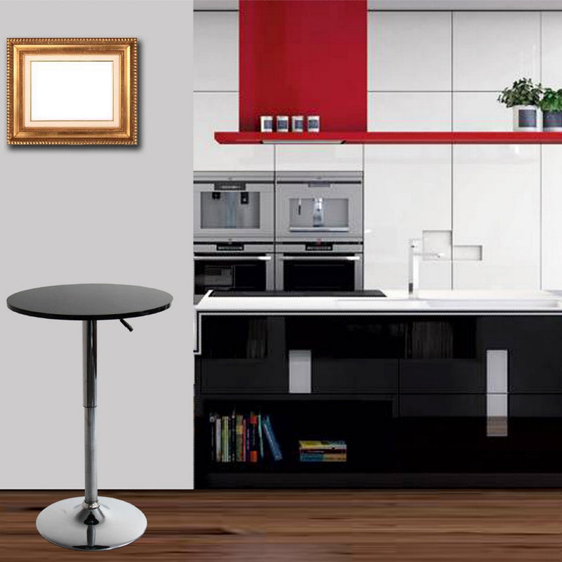 Martin Black Bar Table - living-essentials