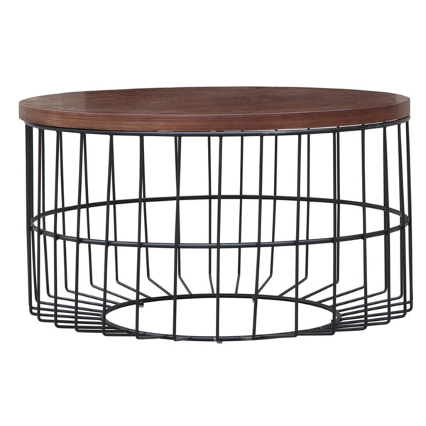 Warren Platner Style Walnut Coffee Table - living-essentials