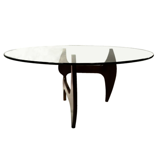 Noguchi Style Walnut Dining Table - living-essentials