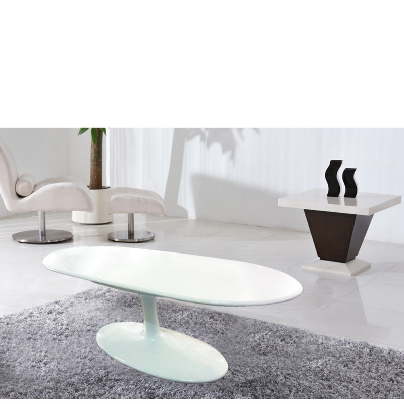 Squire Fiberglass Coffee Table - living-essentials