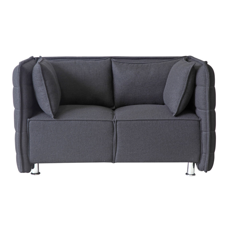 Sofia Wool Loveseat - living-essentials