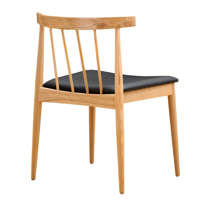 Lean Black Dining Chair - living-essentials